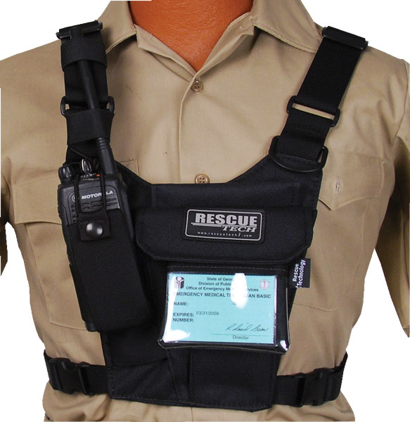 DoubleRadioChest.ID.820322 rescue radio harness, rescue tech radio harness color code at bayanpartner.co