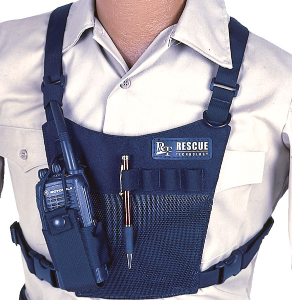 MeshRadioChestharness.820305 rescue radio harness, rescue tech radio harness at aneh.co