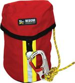 Standard RIT Search line made from the Rescue Tech Nylon Drop Bag and RescueTECH PROBE-N Search line