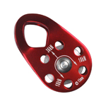 RescueTECH Micro Rescue Pulley Red