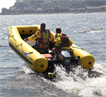 Water Rescue Rafts, Motor-Ready