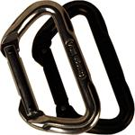 11mm 'D' Non-Locking Carabiner