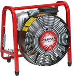 Electric and Gas powered PPV fans