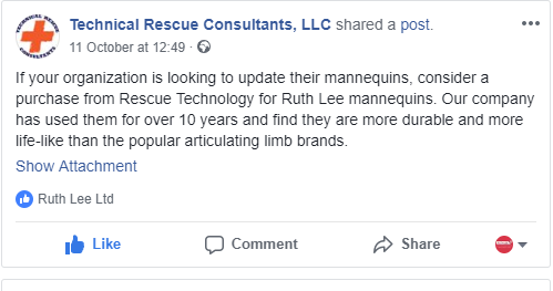 Technical Rescue Consultants testimony